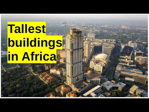 The tallest buildings in Africa   South Africa   Johannesburg   Sandton