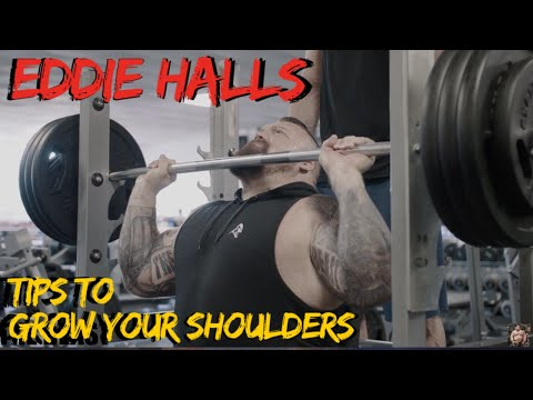 My typical shoulder session for STRENGTH and HYPERTROPHY