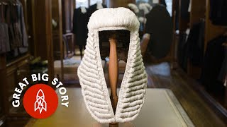 Making Legal Wigs for British Courts