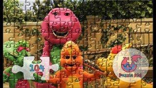 Barney The Dinosaur Nursery Jigsaw Puzzles - Puzzle Kid