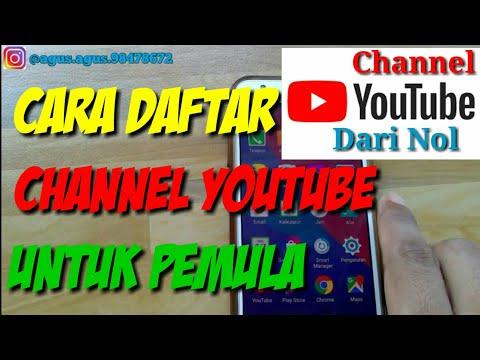 Cara Membuat Channel Youtube Dari Nol Sampai Dapat Uang Di Android 2019
