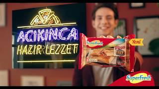 Pizza tost oldu, içi lezzetle doldu. SuperFresh'ten Yeni #PizzaTost !
