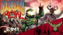 DOOM - At Doom's Gate (E1M1) 【Intense Symphonic Metal Cover】