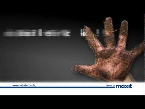maxit Solar: Farben & Putze mit Selbstreinigungs-Effekt