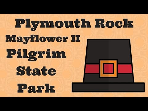 Plymouth Rock Mayflower II Pilgrim Memorial State Park Plymouth MA #HappyThanksgiving