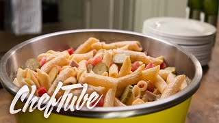 How To Make Pasta Salad With Sausage - Recipe In Description