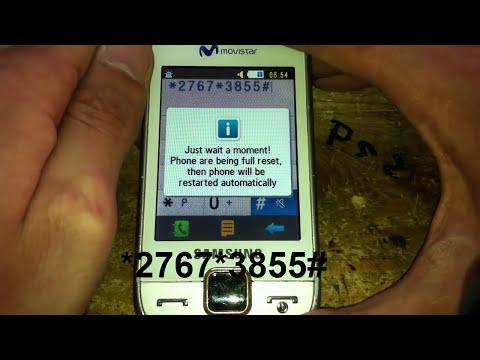 tuto comment formater une samsung gt s5600 hard reset كيفية ازالة كلمة السر من الهاتف