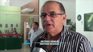 Deputado Granja comissão em visita a policlínica de Limoeiro do Norte
