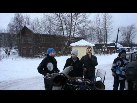 Aurora Project - Polska Murmańsk 01-2012 on the 3 motorcycle ENDURO ADV adventure rally