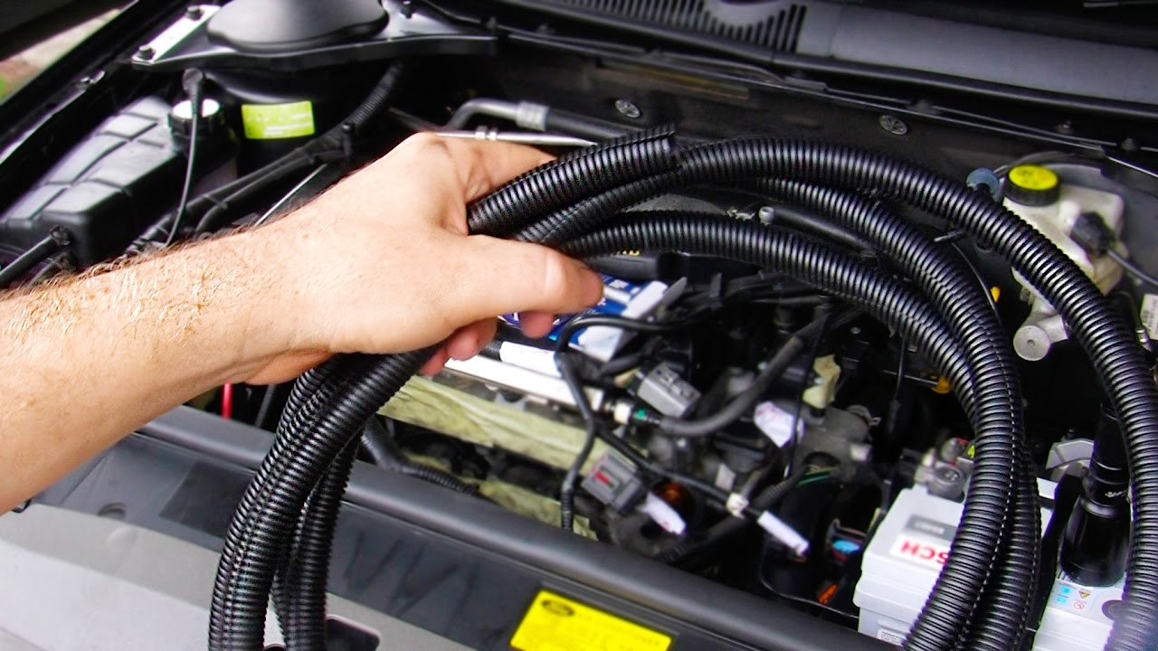 quick tip fixing up engine bay wiring cabling protection [ 1280 x 720 Pixel ]