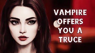 Vampire Offers You A Truce   VAMPIRE ROLEPLAY   Vampire Hunter Listener   ASMR