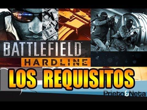 Los requisitos de Battlefield Hardline (PC): 2015 HD