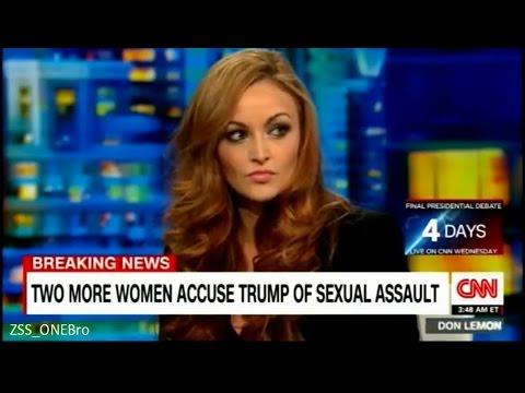 Maria Kanellis on CNN on Donald Trump p2