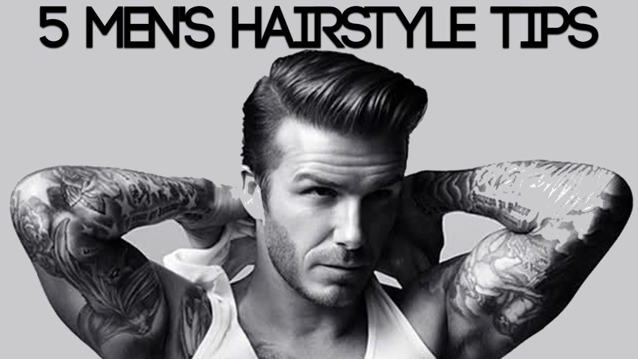 choose a mens hair style