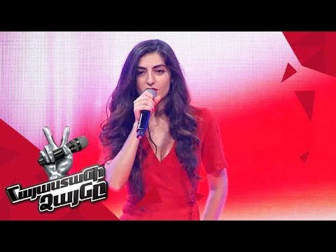 Soulange Sings 'Something's Got A Hold On Me' - Blind Auditions - The Voice Of Armenia 4