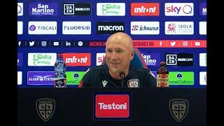 Roma-Cagliari, la conferenza stampa pre-gara