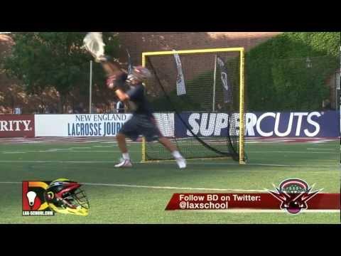 Lax School: Boston Cannons Kip Turner Goalie Warm Up 102
