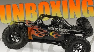 Unboxing the 4WD Brushless Rock Rider!