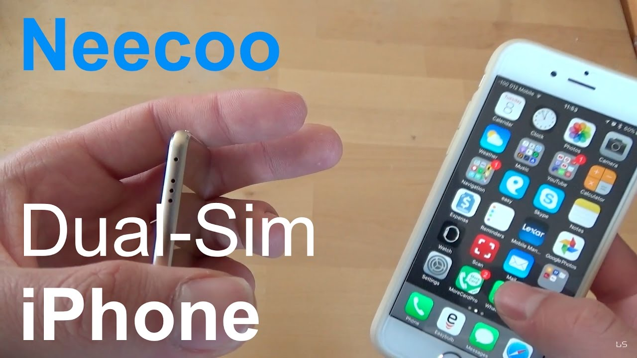 Full Review and Unboxing: NeeCoo Bluetooth Dual-SIM for iPhone/iPod/iPad