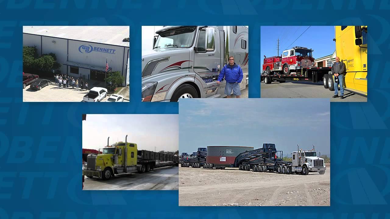 Bennett Motor Express   Flatbed, Heavy Haul & Dry Van Trucking