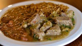 Pork In Green Sauce Recipe / Cerdo Con Salsa Verde