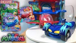 PJ Masks Toys Deluxe Games ❤️️ HUGE Cars