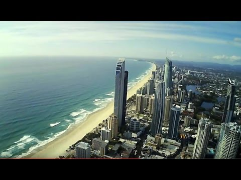 Surfers Paradise Queensland by Drone - Hubsan 502E