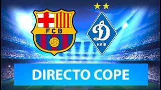 (SOLO AUDIO) Directo del Barcelona 3-1 Dinamo Kiev en Tiempo de Juego COPE
