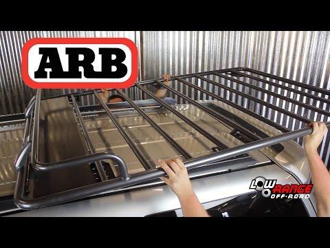 ARB Roof Rack Installation on 2004 Toyota 4Runner