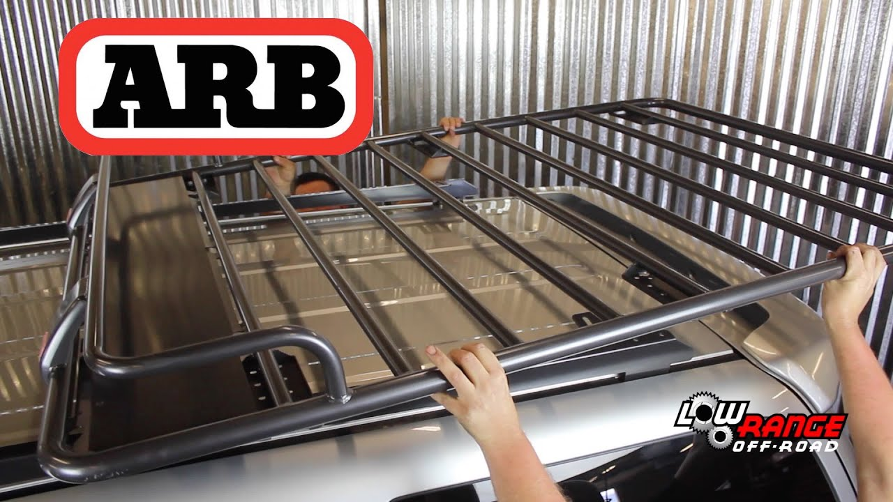 ARB Roof Rack Installation On 2004 Toyota 4Runner   YouTube