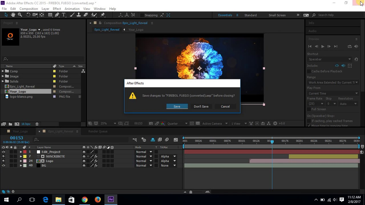 Free template after effect free after effects for Adobe after effect intro templates