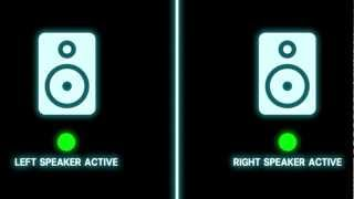 Left/Right Stereo Audio/Visual Test.