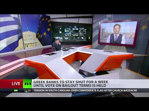 'Greece should Grexit which is fantastic, they could restart their economy' – Max Keiser