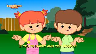 If you're Happy and you Know it-Lottie Dottie Chicken-Kids songs and Nursery rhymes in English Cart