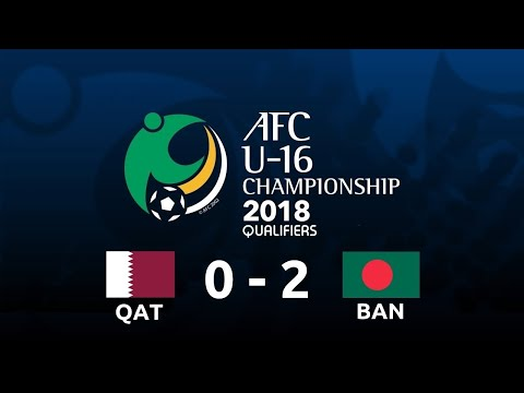 Bangladesh U-16  2 - 0   Qatar U - 16 || BANGLADESH SPORTS TV