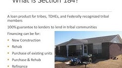 HUD Section 184 Program