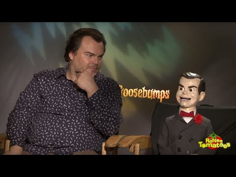 Goosebumps Interview: Jack Black, Odeya Rush, Ryan Lee,  and Dylan Minnette