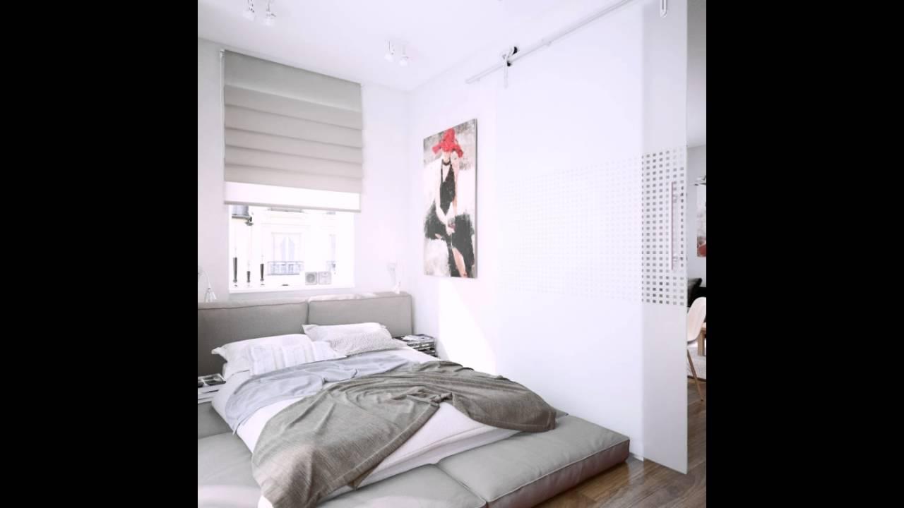 Weiß Creme Schlafzimmer Low Level Bett