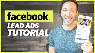 how to Set Up FACEBOOK ADS LEAD FORMS  Facebook Lead Generation 2020
