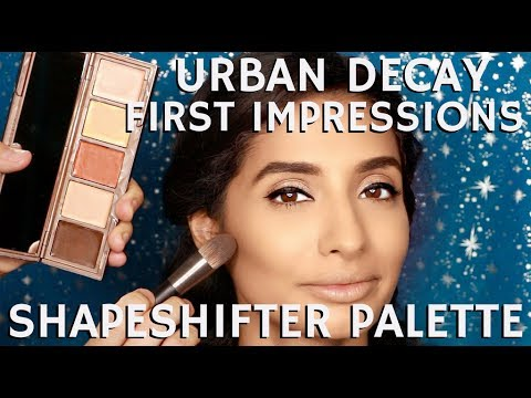 Brand New Urban Decay Shapeshifter Palette How it Works & 1st Impressions | mathias4makeup
