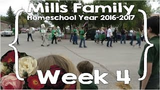 mills family home school year week 4 feat ace curriculum large family homeschool vlog
