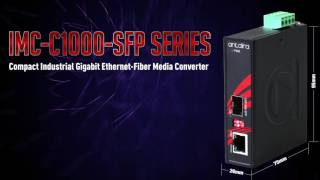 Antaira's Compact Industrial Non-PoE Switch & Media Converter Series (LNX-C500G & IMC-C1000-SFP)