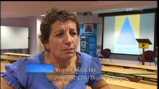CIVIL DEFENCE FEATURED ON RTÉ