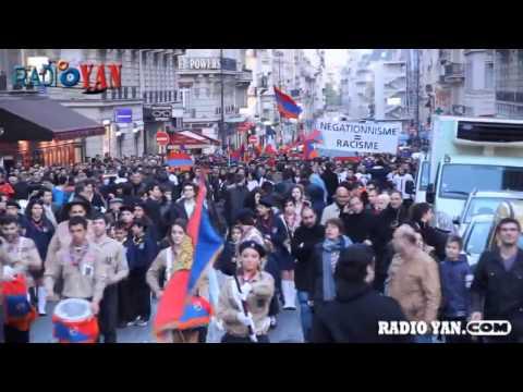 Армяне в ПАРИЖЕ (Франция)