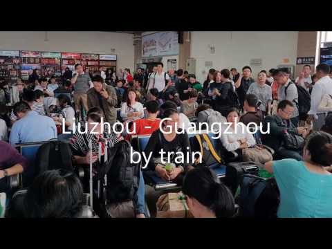 Liuzhou to Guangzhou by train
