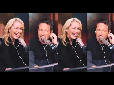 """Gillian Anderson & David Duchovny interview with""""On Air with Ryan Seacrest"""""""