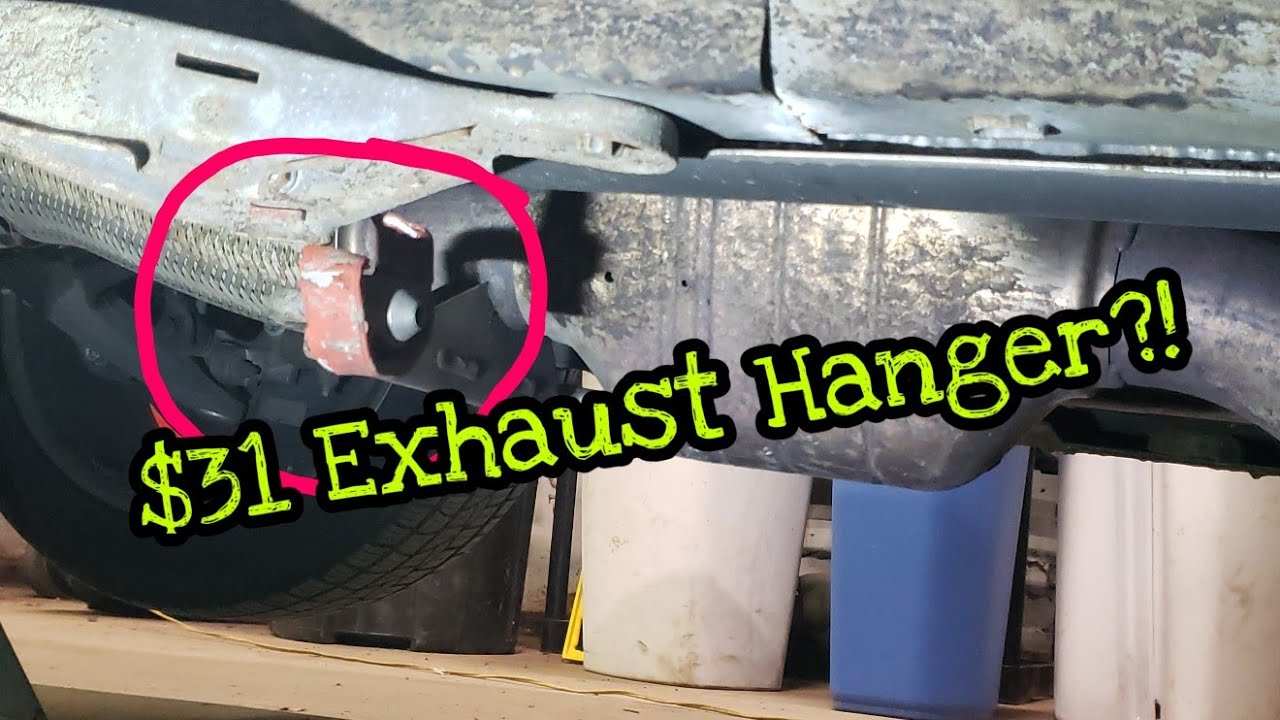 replacing the most expensive exhaust hanger and doing an oil change on a 2 8 v6 saab 9 3 xwd epichow [ 1280 x 720 Pixel ]