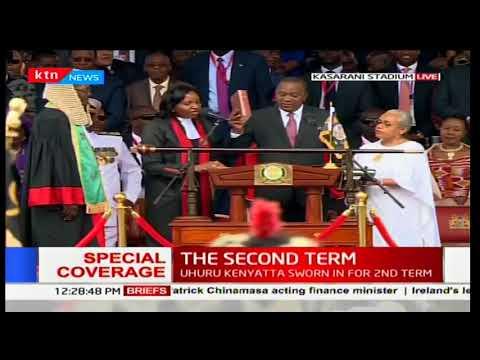 Download Youtube: Uhuru's full inauguration ceremony