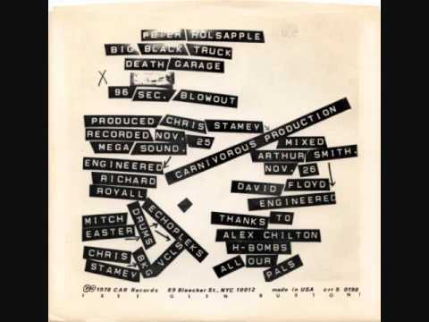 Peter Holsapple - 96 Second Blowout & Death Garage (Double B-Side)-1978 Mp3
