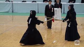 56th All Japan Women's Kendo Championships - QF 1